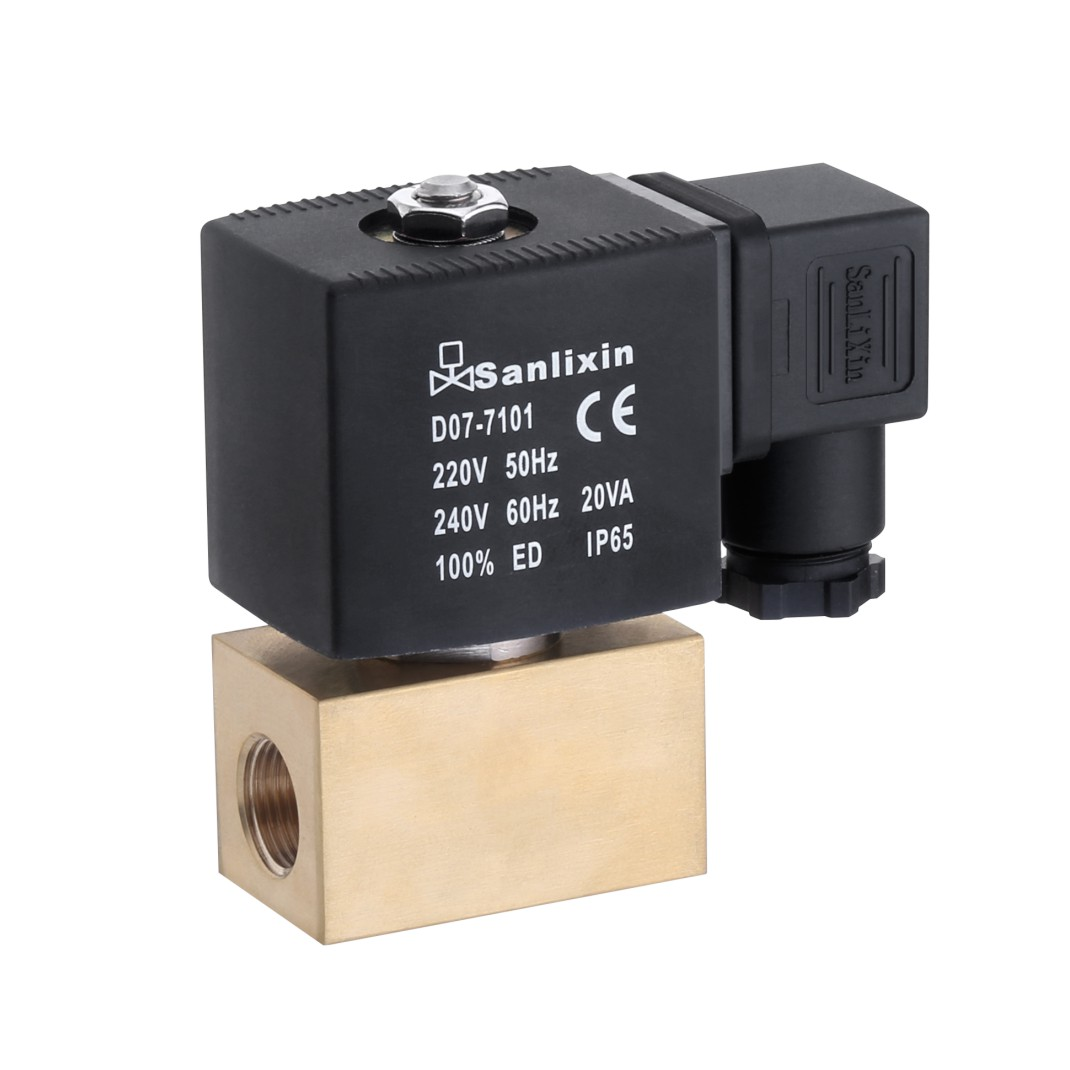 SLZ Series High Pressure Pilot Operated Solenoid Valve Normally Closed