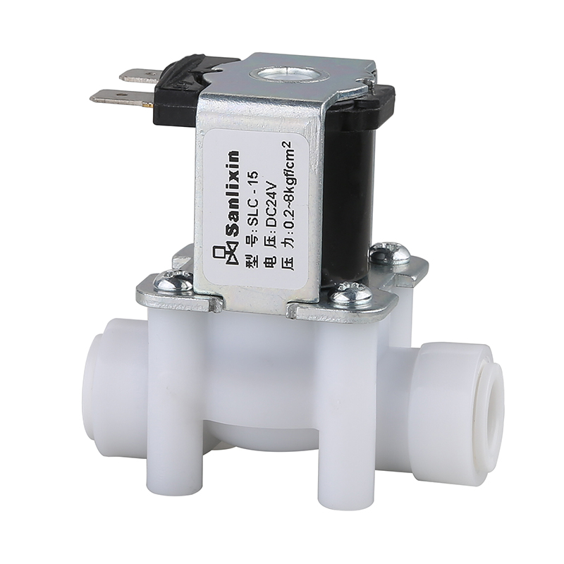 SLC Series Inlet Plastic Solenoid Valve Normally Closed