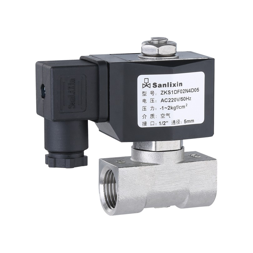 ZKS Compact Series 2/2-way Direct Acting Vacuum Solenoid Valve Normally Closed