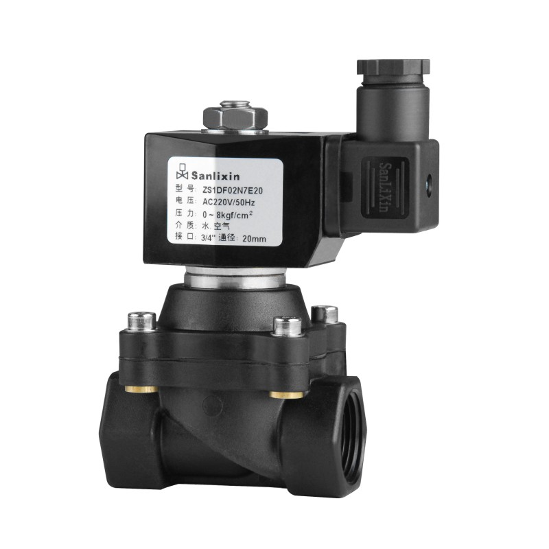 ZS Plastic Series 2/2-way Zero Press Differential Solenoid Valve·Normally Closed